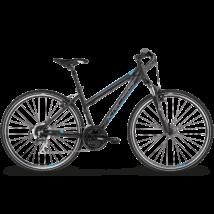 "KROSS EVADO 3.0 női cross kerékpár, fekete / kék, M (17"")"