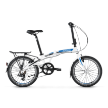 """KROSS FLEX 2.0 folding (összecsukható) trekking kerékpár, fehér, OS (11"""")"""