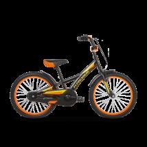 """KROSS RACER 5.0 OS (11"""") gyermekkerékpár, fekete / sárga"""